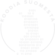 Logo for Koodia Suomesta